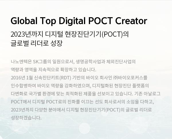 Global Top Digital POCT Creator
