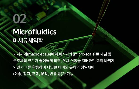 Microfluidics - 미세유체역학